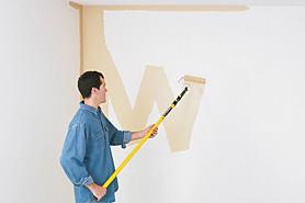 دیوار منزل تان را خودتان رنگآمیزی كنید